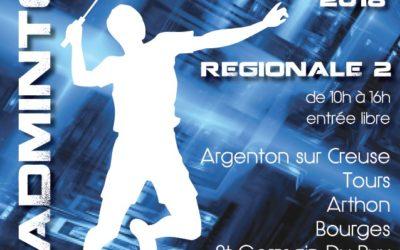 Régionale 2 à domicile dimanche 11 novembre