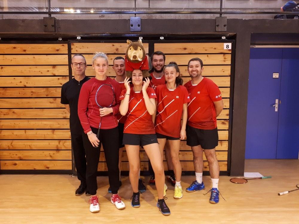 equipe badminton R1 2019