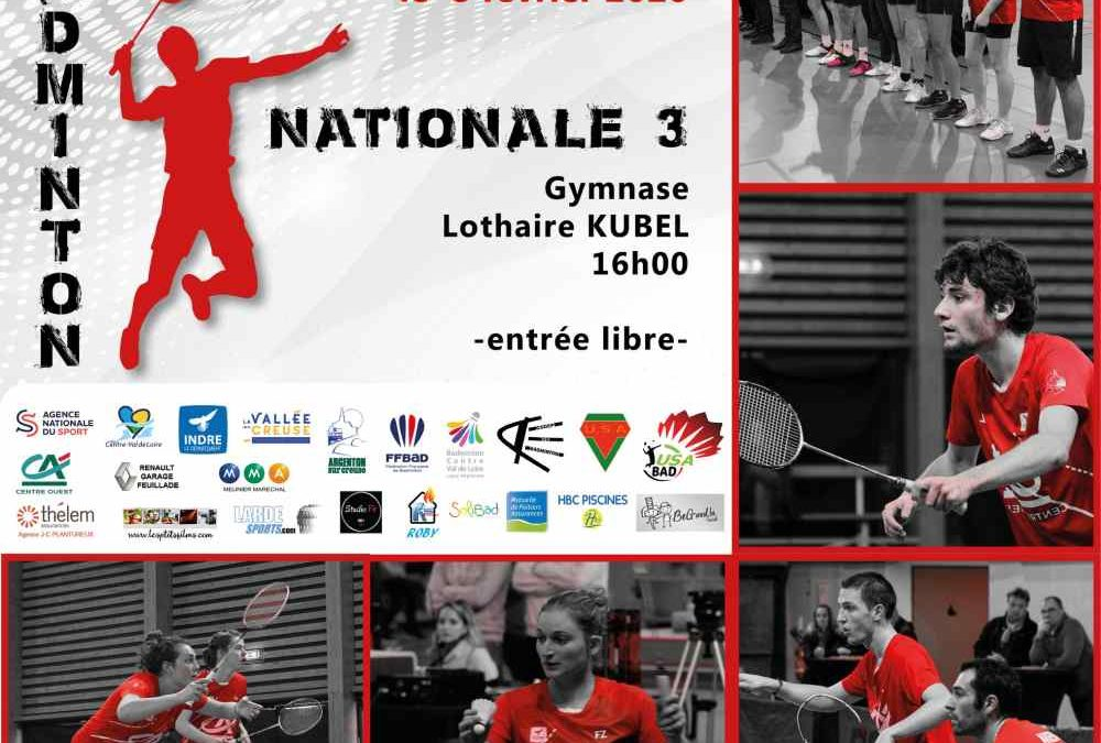 Nationale 3 face à Tours