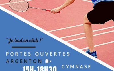 Journée Portes ouvertes Badminton