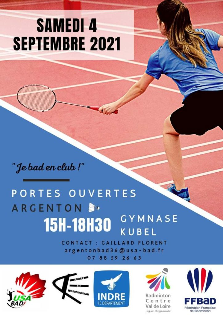 portes ouvertes badminton